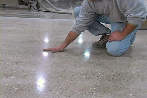 Красивая шлифовка бетона купит керамзитобетон хабаровск